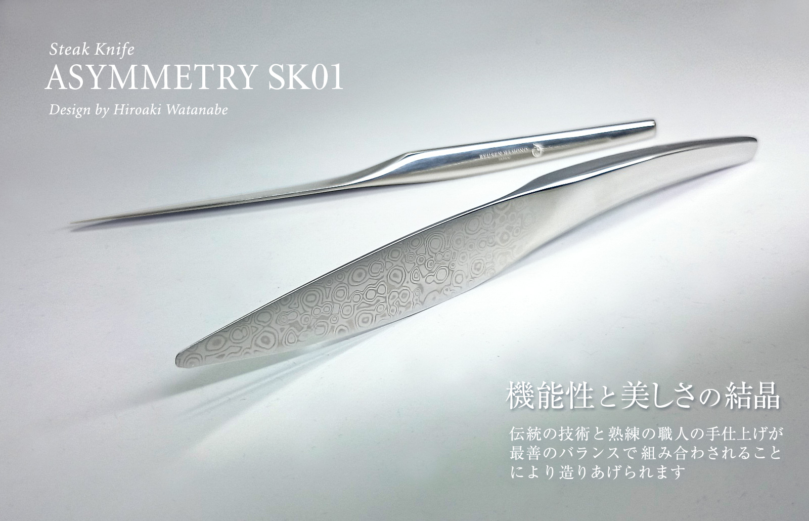 Steak knife ASYMMETRY SK01